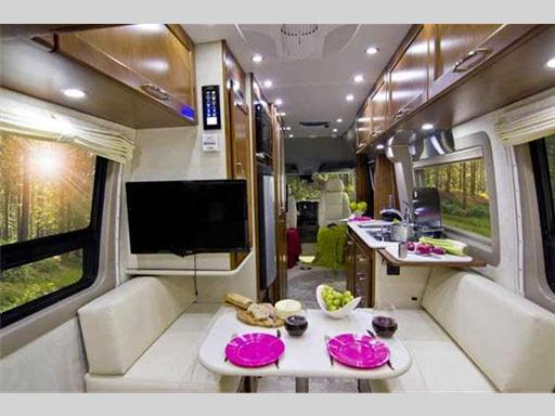 Pleasure-Way Motorhome Interior