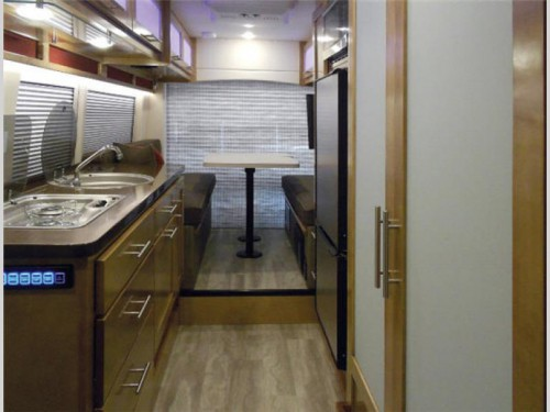 Coachmen Crossfit Class B Motorhome Interior